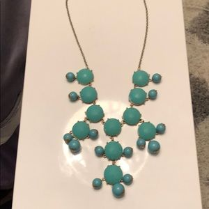Jewelry - Beaded teal necklace!